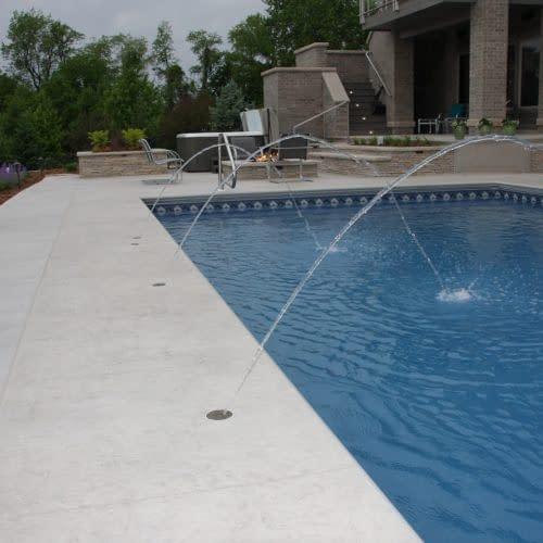 Deck laminars on 2014 Parade of Homes pool Iowa City Iowa