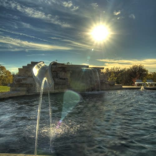 Pool Fountain Vertical
