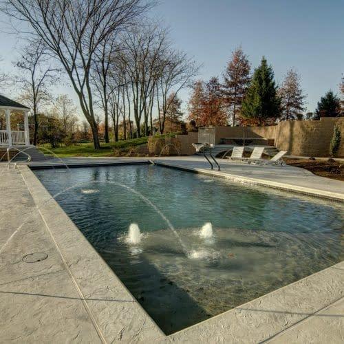Pool House Corner