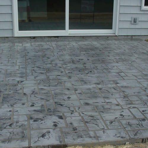 (rear patio & walk)#2