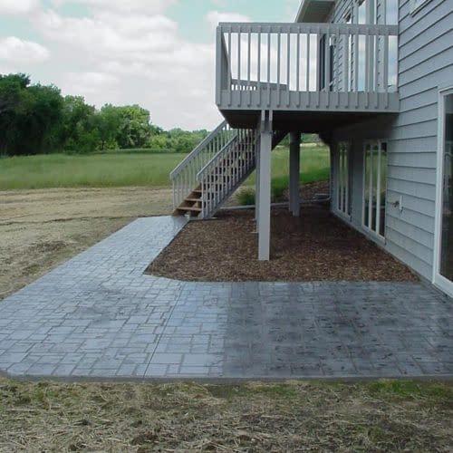 (rear patio & walk)#3